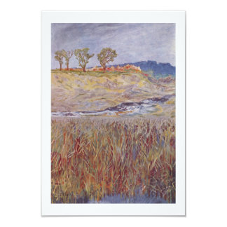 Water and Reeds Card