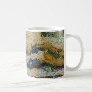 Water and river delta coffee mug