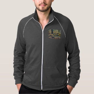Water and river delta track jacket