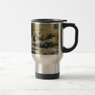 Water and river delta travel mug