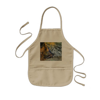 Water and rock kids' apron