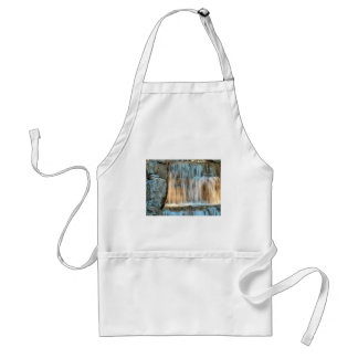 water and rocks adult apron