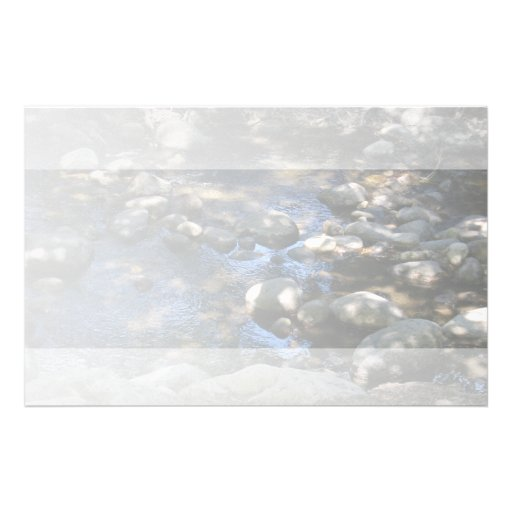 Water and Rocks Light Stationery