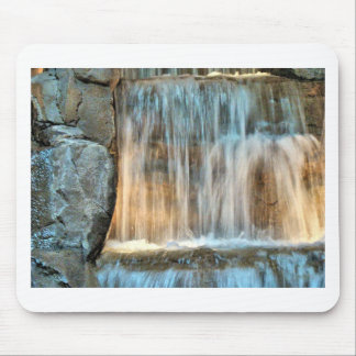 water and rocks mouse pad