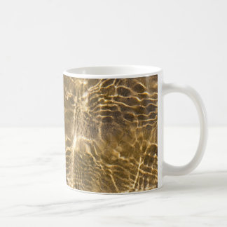 Water and sand ripples mugs