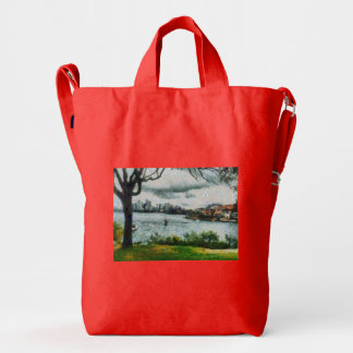 Water and scenery duck bag