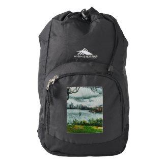 Water and scenery high sierra backpack