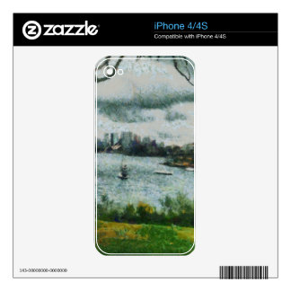 Water and scenery iPhone 4S skins