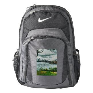 Water and scenery nike backpack