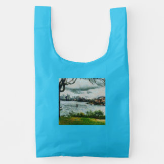 Water and scenery reusable bag