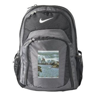 Water and skyline nike backpack