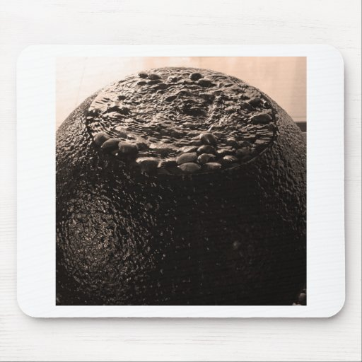 Water and stone mouse pad