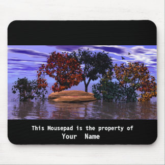Water and trees Mousepad Mouse Pad