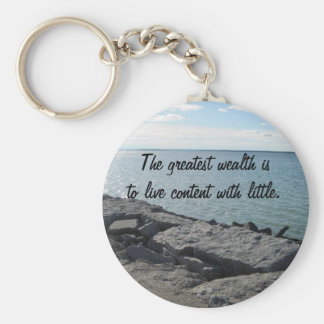 Water and Wealth Keychains