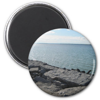 Water and Wealth Refrigerator Magnet