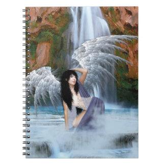 water angel notebook
