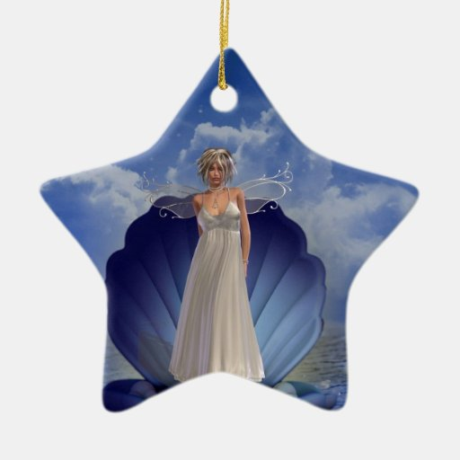 Water Angel Ornament