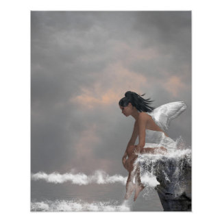 Water Angel Poster