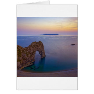 Water Arched Cove At Dusk Cards