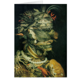 Water - Arcimboldo - 1566 Card