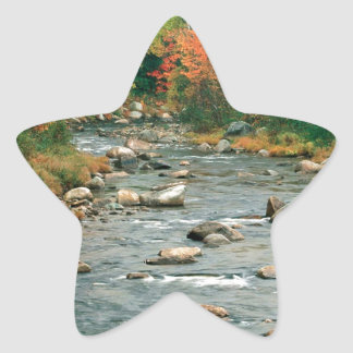Water Autumn Colors Hampshire Star Stickers