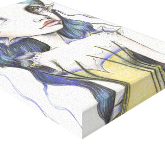 Water Babe Stretched Canvas Prints