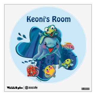 Water Babies Wall Decal