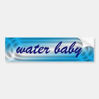 Water Baby Bumper Sticker