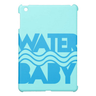 Water Baby cute with ocean waves iPad Mini Covers