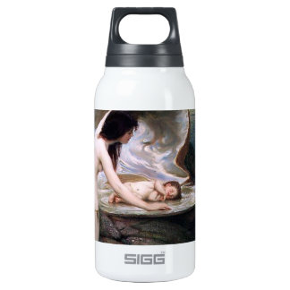 Water Baby Mother antique painting Insulated Water Bottle