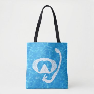 Beach Themed Water Baby Scuba Tote