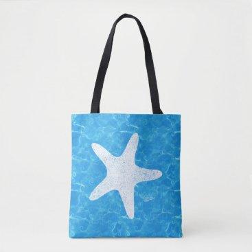 Beach Themed Water Baby Starfish Tote