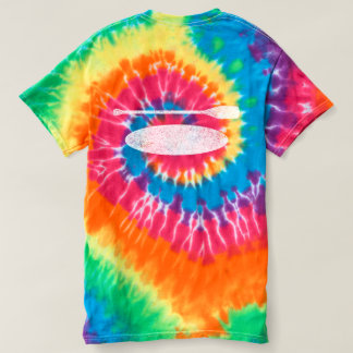 Water Baby Vintage Paddle Board Tie Dye T-shirt