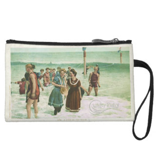 Water Baby Vintage Swimming Clutch