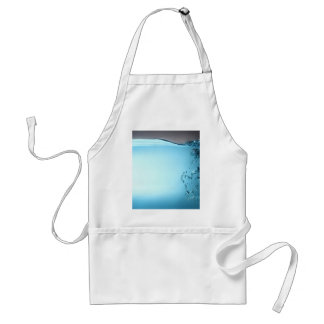 Water Background Adult Apron