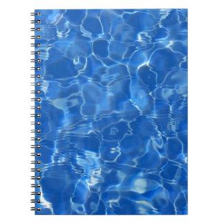 water background journals