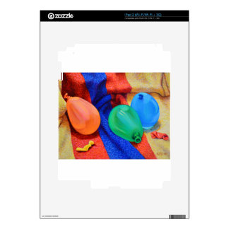 Water Ballons at the Beach Skin For iPad 2