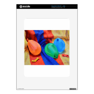Water Ballons at the Beach Skin For The iPad
