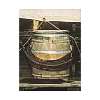 WATER BARREL (18in x 24in) Other Sizes Available Canvas Print