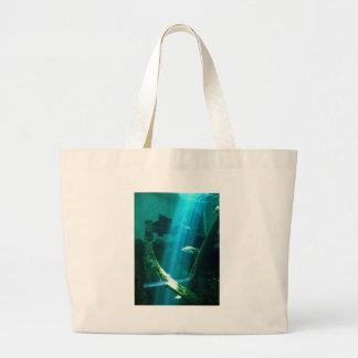 Water Beam Large Tote Bag