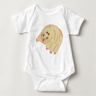 Water Bear Cute Anime Tardigrade Baby Bodysuit