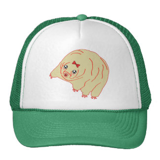 Water Bear Cute Anime Tardigrade Trucker Hat