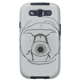 Water Bear Tardigrade Face Samsung Galaxy SIII Case