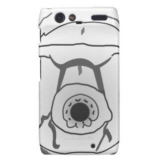 Water Bear Tardigrade Face Motorola Droid RAZR Cover