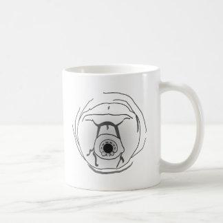 Water Bear Tardigrade Face Classic White Coffee Mug