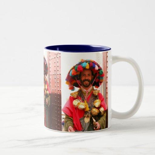 Water bearer - Marrakesh Two-Tone Coffee Mug