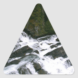 Water Before The Falls Triangle Sticker