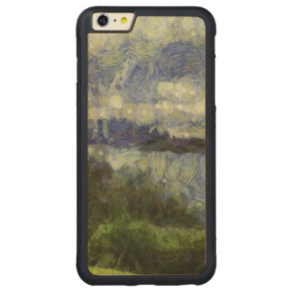 Water beyond carved maple iPhone 6 plus bumper case