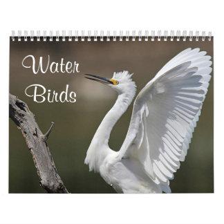 Water Birds Calendar