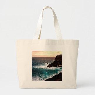 Water Black Rock Coast.jpg Tote Bags